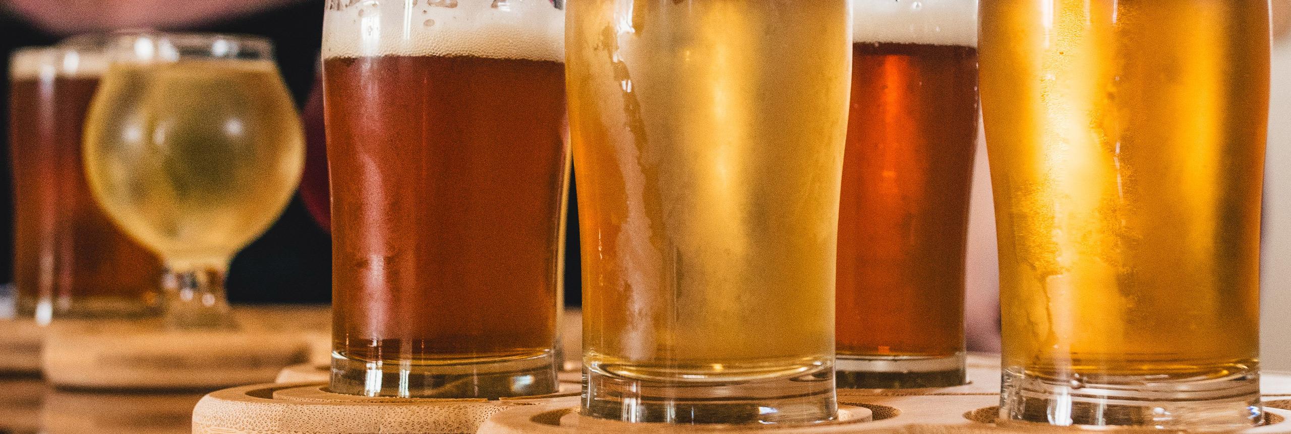 Cervezas del mundo y cervezas artesanales